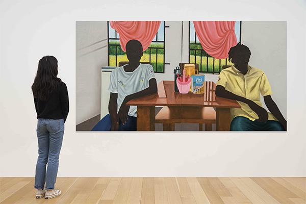 Say it Loud - виставка в Christie's, присвячена творчості темношкірих художників з усього світу.