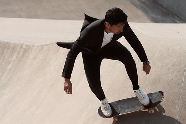 Рекламная кампания Suit Challenge от Boss