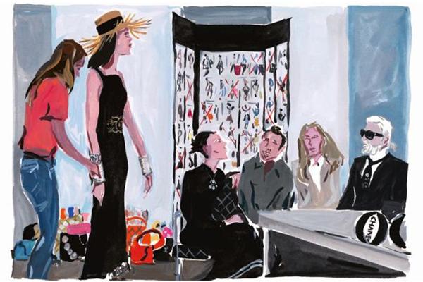 Иллюстрированная книга от CHANEL: The Making of a Collection