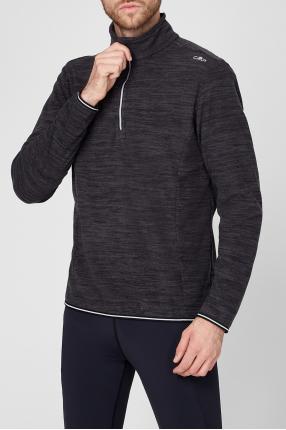 Чоловіча темно-сіра спортивна кофта 1