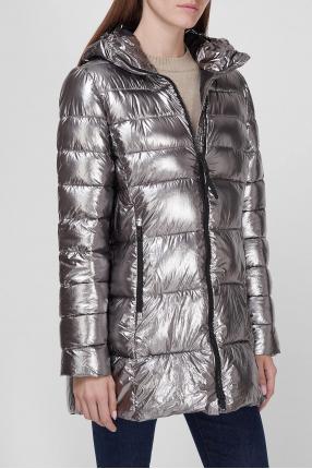 Женская серебристая куртка 1
