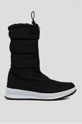 Жіночі чорні чоботи