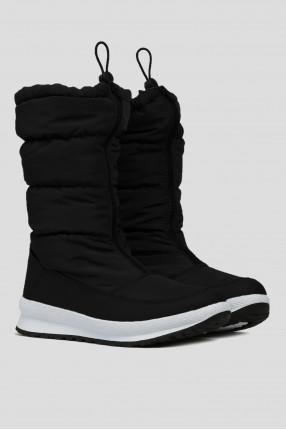 Жіночі чорні чоботи 1