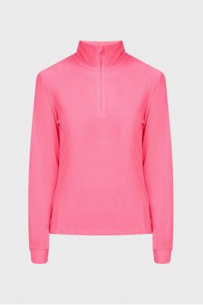 Женская розовая спортивная кофта