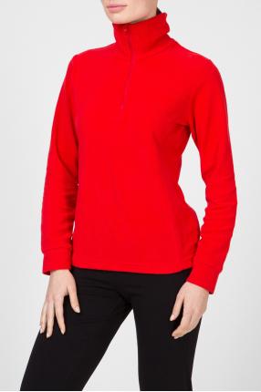 Женская красная спортивная кофта 1