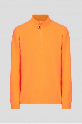 Мужская оранжевая спортивная кофта