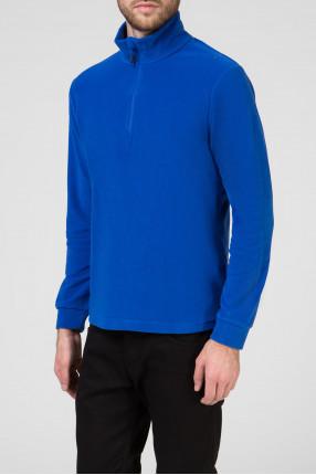 Мужская синяя спортивная кофта 1