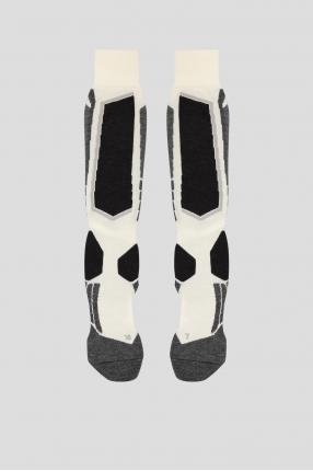 Женские лыжные шерстяные носки