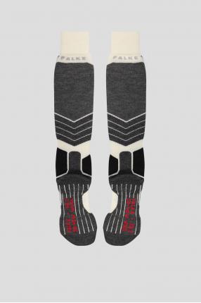 Женские лыжные шерстяные носки 1