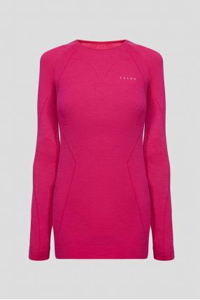 Жіночий рожевий вовняний термореглан