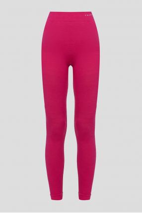 Жіночі рожеві вовняні термобрюки