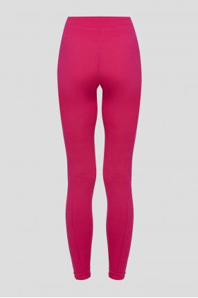Женские розовые шерстяные термобрюки 1