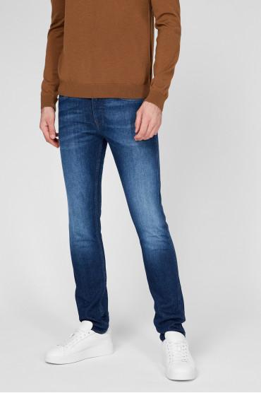 Мужские синие джинсы 2