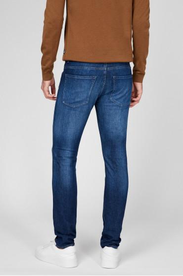Мужские синие джинсы 3