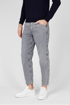 Мужские светло-серые джинсы 1