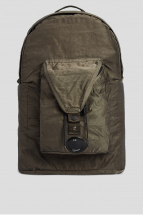 Мужской зеленый рюкзак