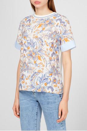 Женская блуза с узором 1
