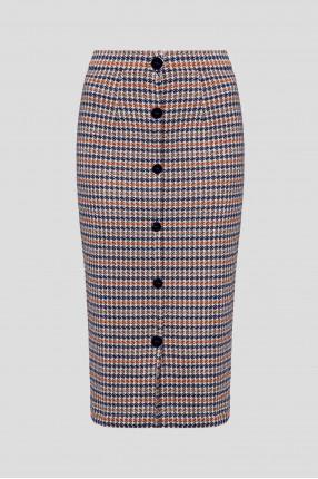 Женская юбка с узором