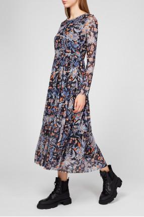 Женское платье с узором 1