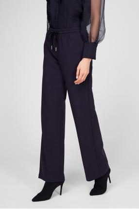 Женские темно-синие спортивные брюки 1