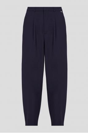 Женские темно-синие брюки
