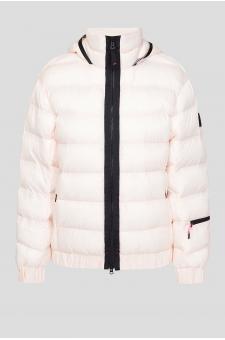 Женская светло-розовая куртка