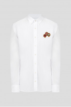 Мужская белая рубашка
