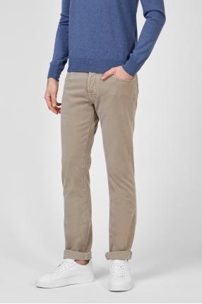 Мужские бежевые джинсы 1