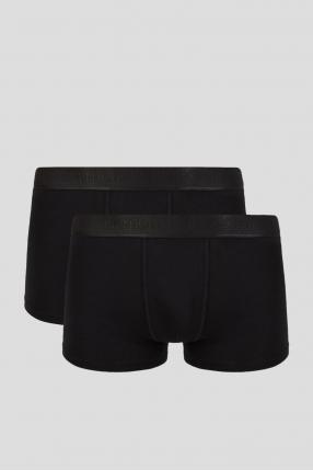 Чоловічі чорні боксери (2 шт)