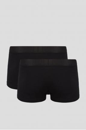 Чоловічі чорні боксери (2 шт) 1