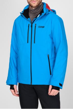 Мужская голубая лыжная куртка 1