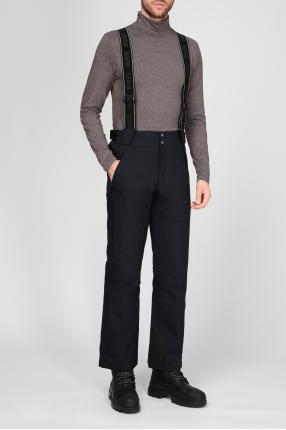 Мужской черные лыжные брюки 1