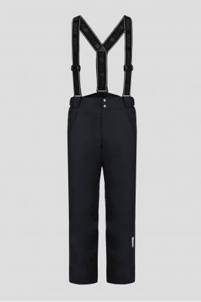 Мужской черные лыжные брюки