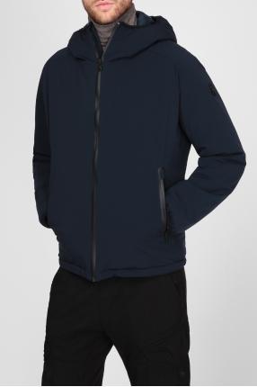 Мужская темно-синяя куртка 1