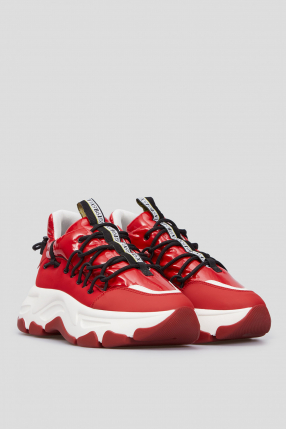 Женские красные кроссовки 1