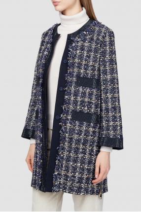 Женское твидовое пальто 1