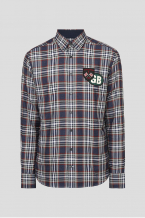 Мужская рубашка в клетку Button Down