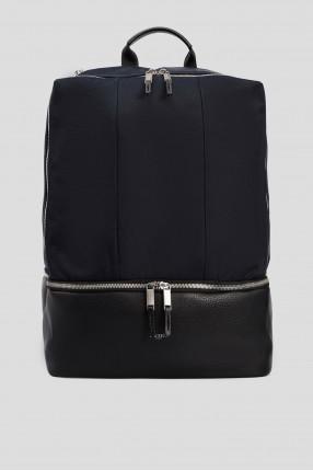 Мужской синий рюкзак