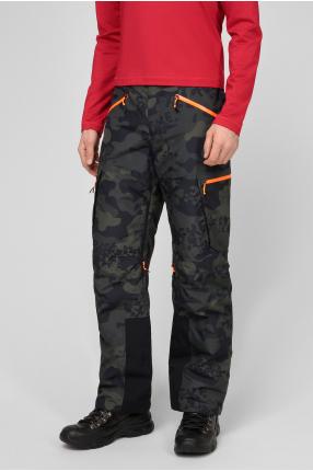 Мужские лыжные брюки с узором 1