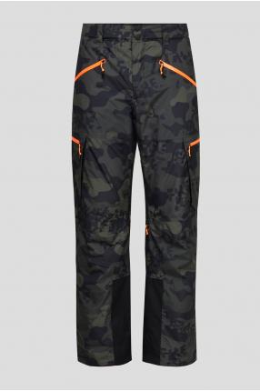 Мужские лыжные брюки с узором