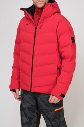 Мужская красная лыжная куртка 1
