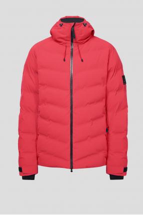 Мужская красная лыжная куртка