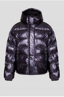 Женская темно-фиолетовая лыжная куртка