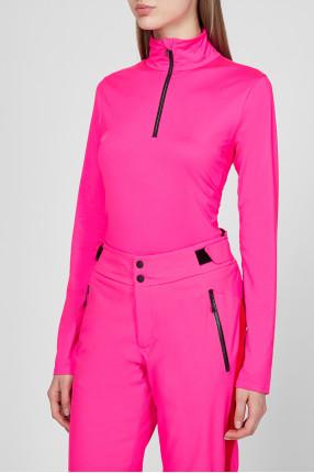 Женская розовая спортивная кофта 1