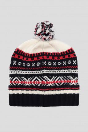 Мужская шерстяная шапка 1