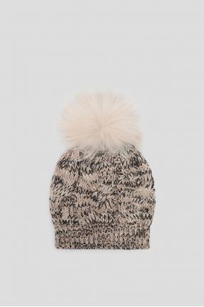 Жіноча кашемірова шапка 1