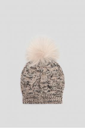 Жіноча кашемірова шапка
