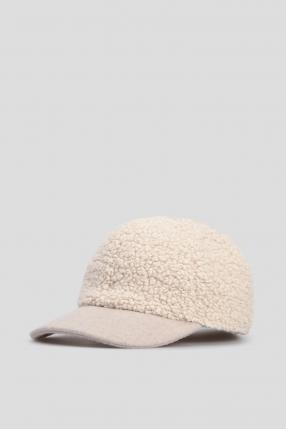 Женская бежевая кепка 1