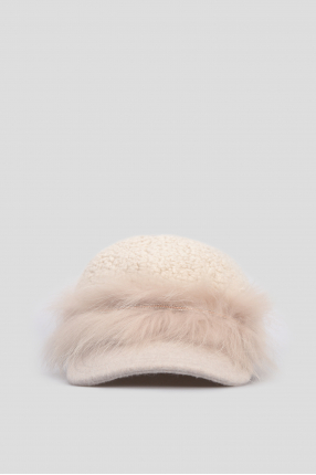 Женская светло-серая кепка