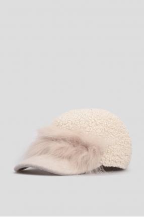 Женская светло-серая кепка 1